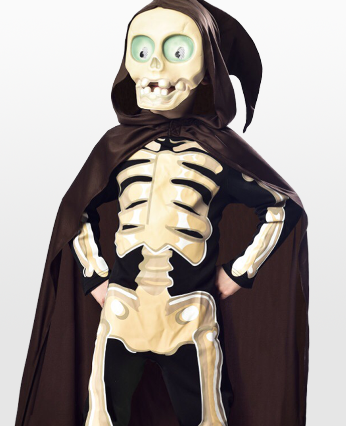Kids' Skeleton Costume