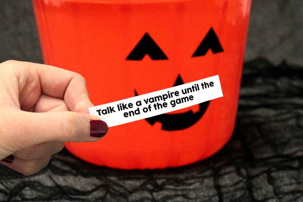 Free Printable Trick or Treat Game
