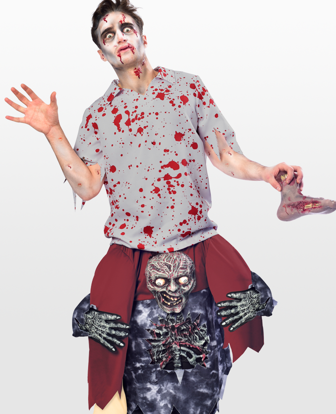 Ride On Zombie Costume 2