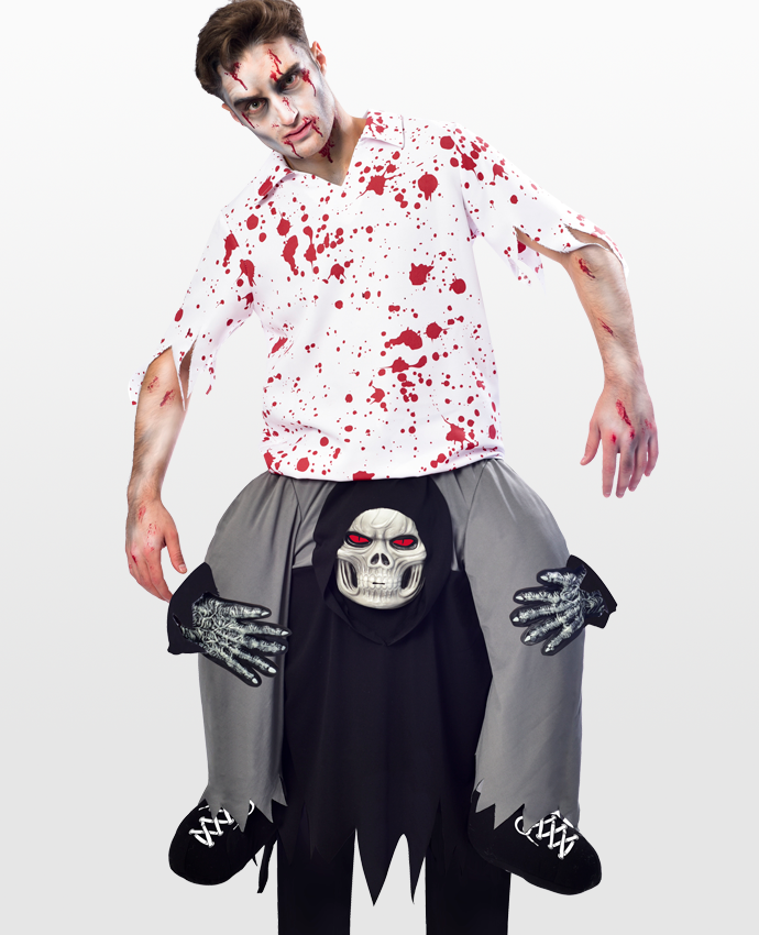 Ride On Zombie Costume