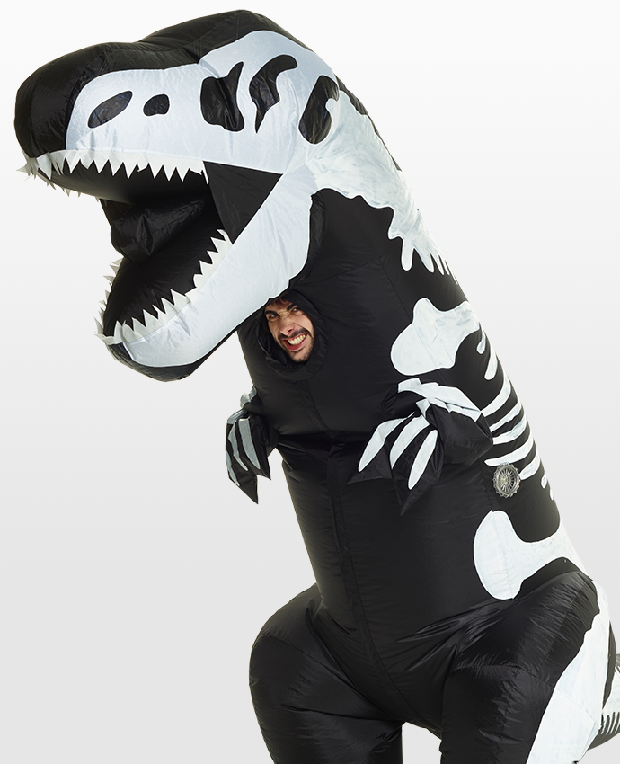 Skeleton T-Rex Costume