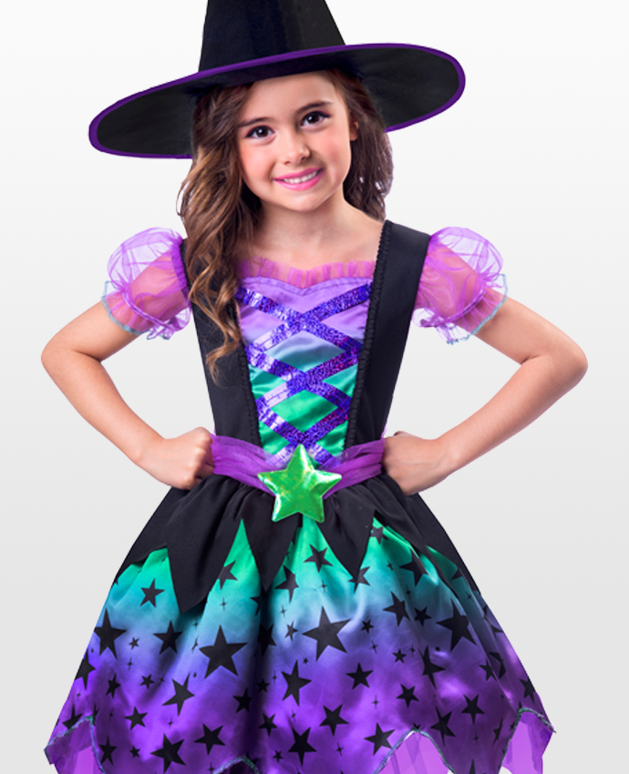 Spooky Cute Witch Costume for Kids