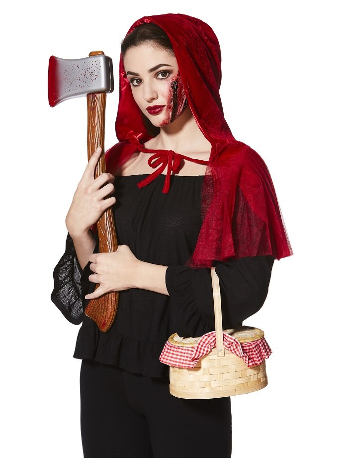 Diy Red Riding Hood Costume Adult