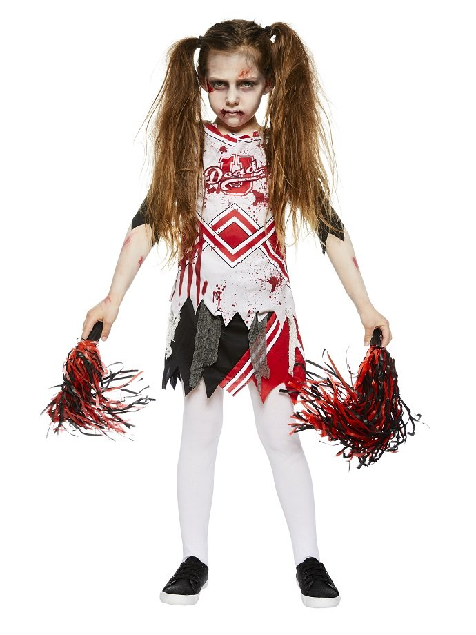 zombie cheerleader costume ideas for kids