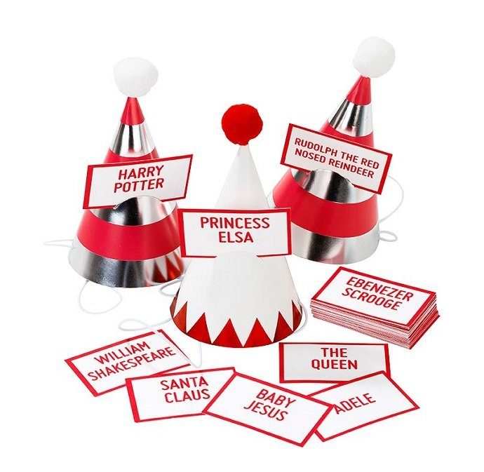 fun christmas party games to play at the table party delights blog
