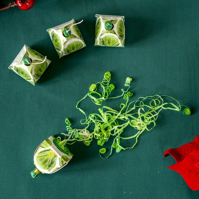 Brussel Sprout Christmas Party Poppers