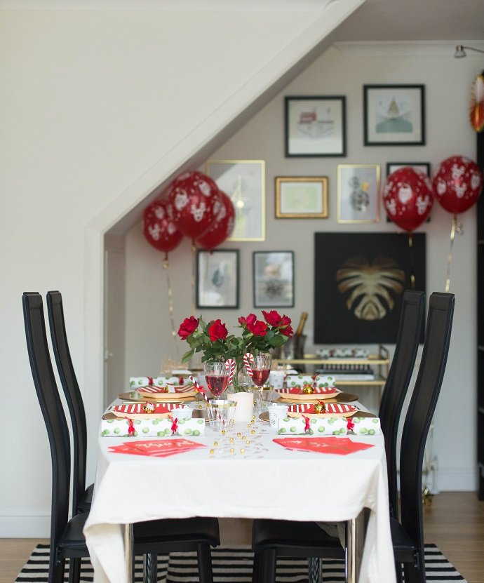 Christmas Dinner Decor Ideas