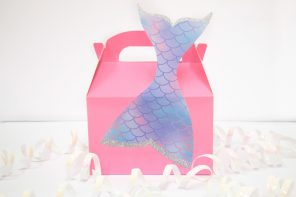 Pink Mermaid Party Boxes
