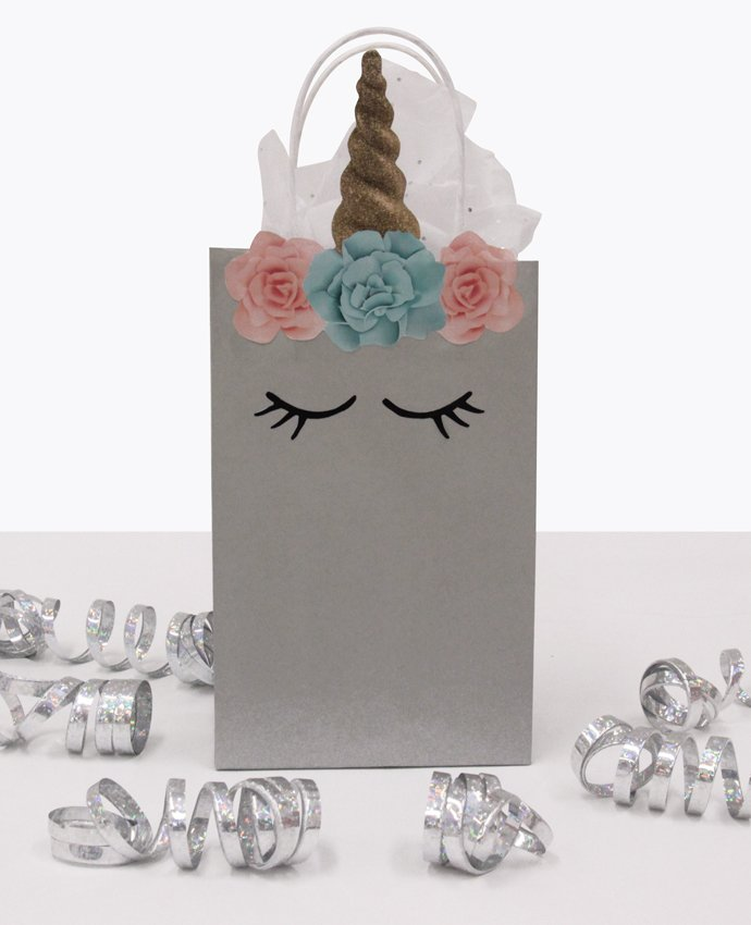 Silver Unicorn Party Bags