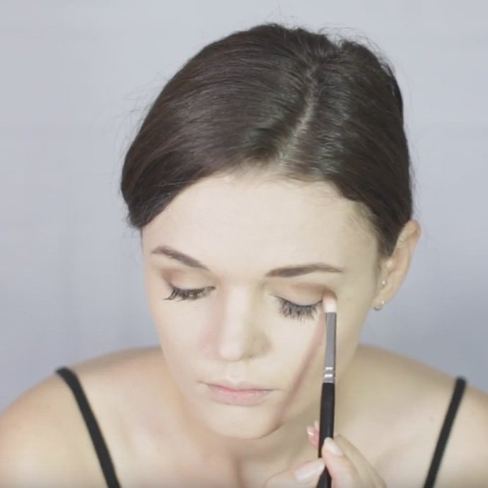 Mary Poppins Make-Up Tutorial Step 2