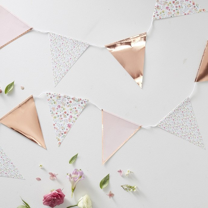 Floral Tea Party Bunting