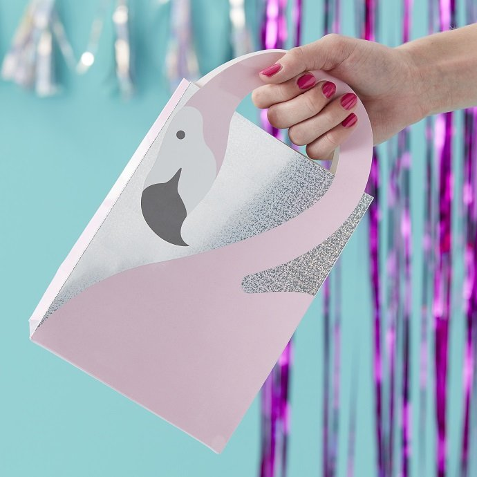 Flamingo Party Bags