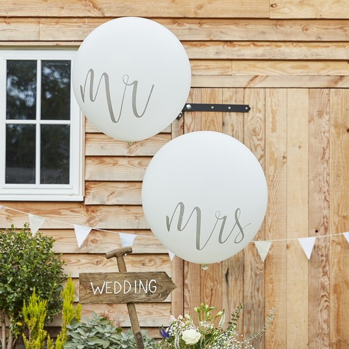 Giant Mr & Mrs Balloons