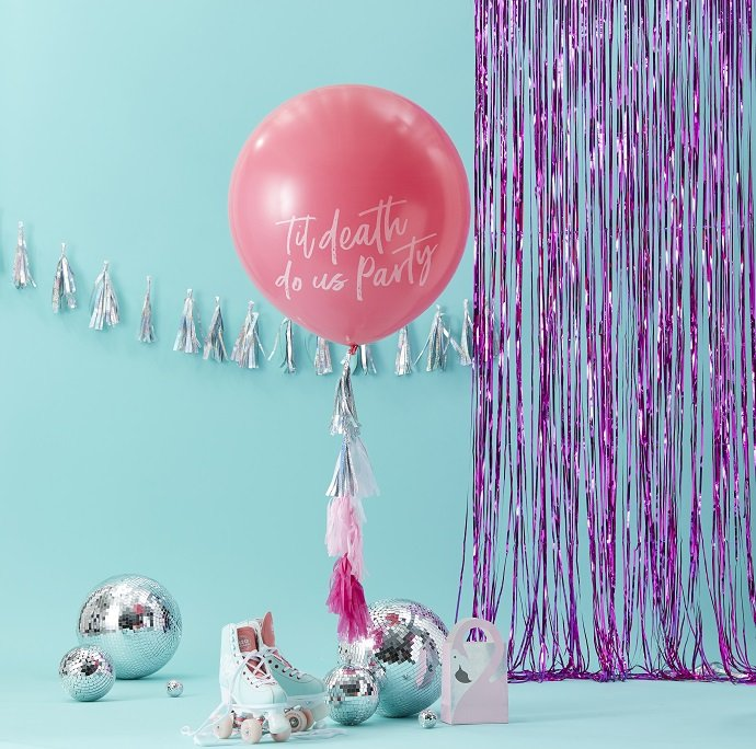 Giant Til Death Do Us Party Balloon Kit