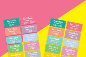 Printable Hen Party Drinking Game