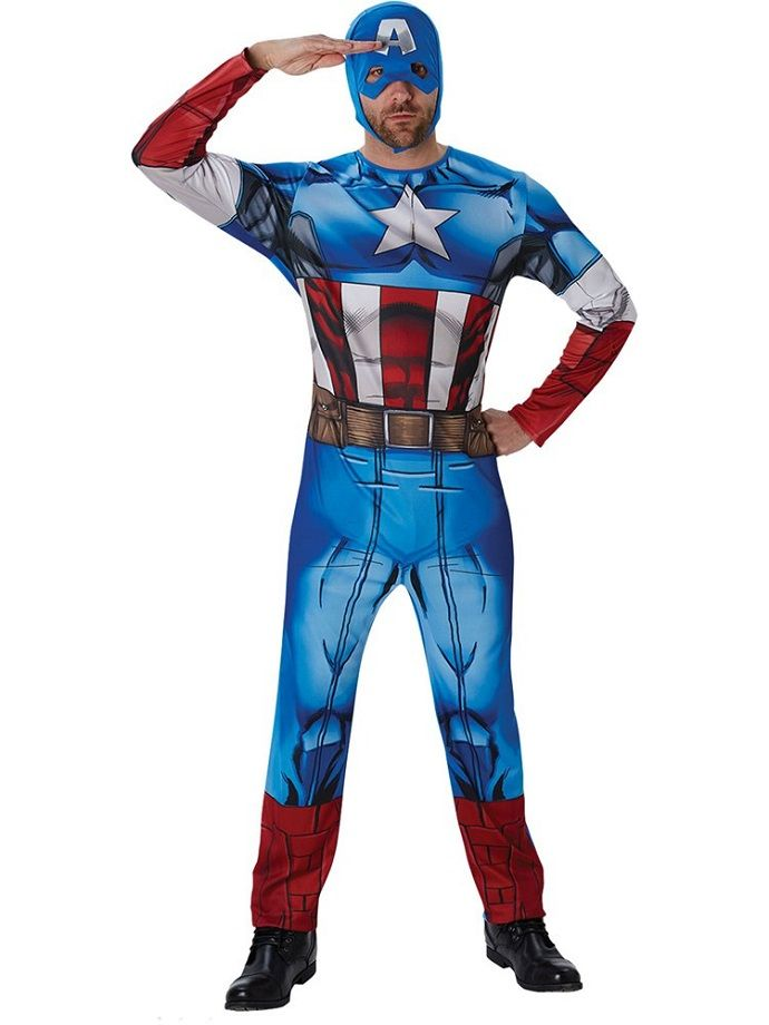 Captain America fancy dress costume  sc 1 st  Party Delights Blog : costume ideas beginning with c  - Germanpascual.Com