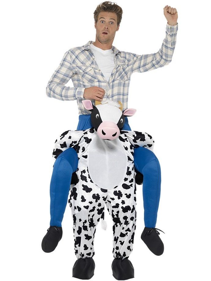 Cow fancy dress costume
