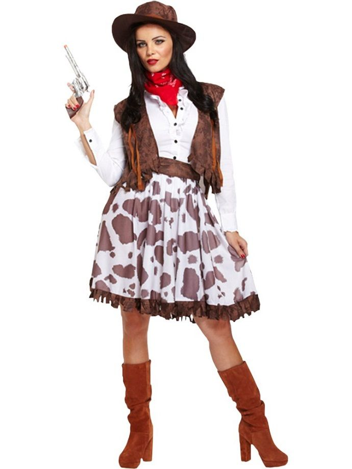 Cowgirl fancy dress costume