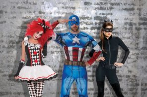 Fancy dress ideas beginning with C - clown, Captain America and Catwoman