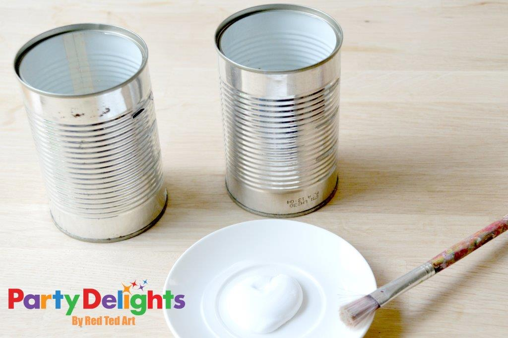 Tin Can Crafts - Vintage Chic