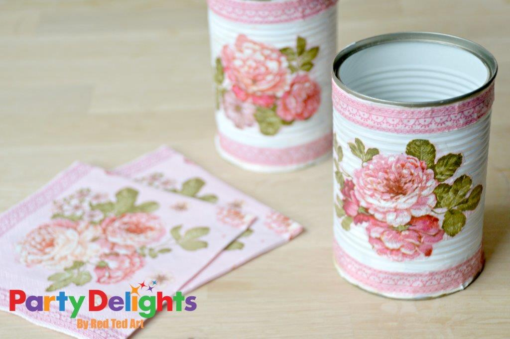 Tin Can Crafts for your party