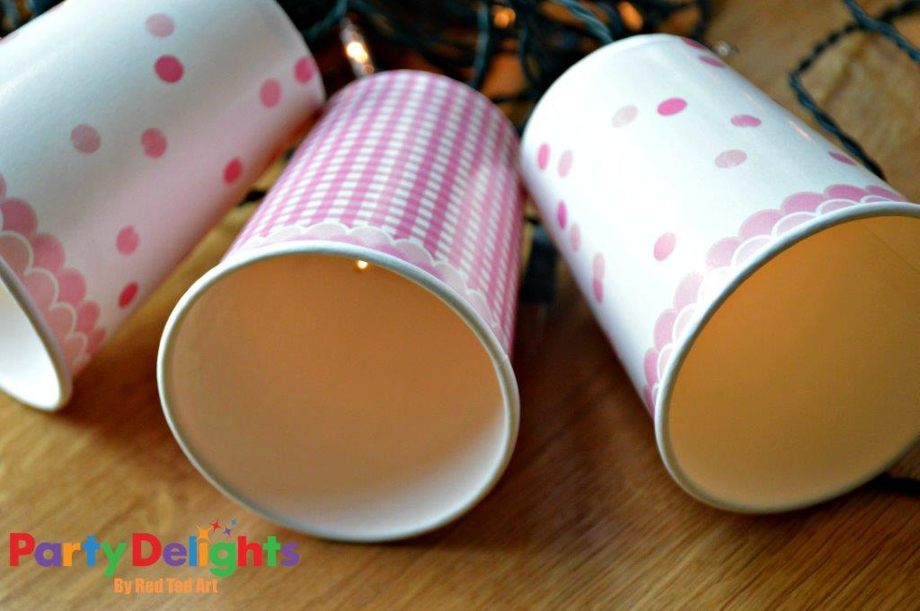 Paper Cup Bunting