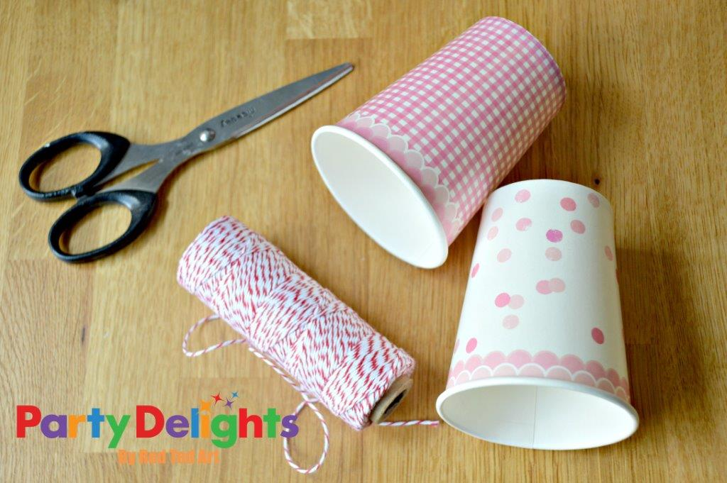 Paper Cup Crafts - Favours