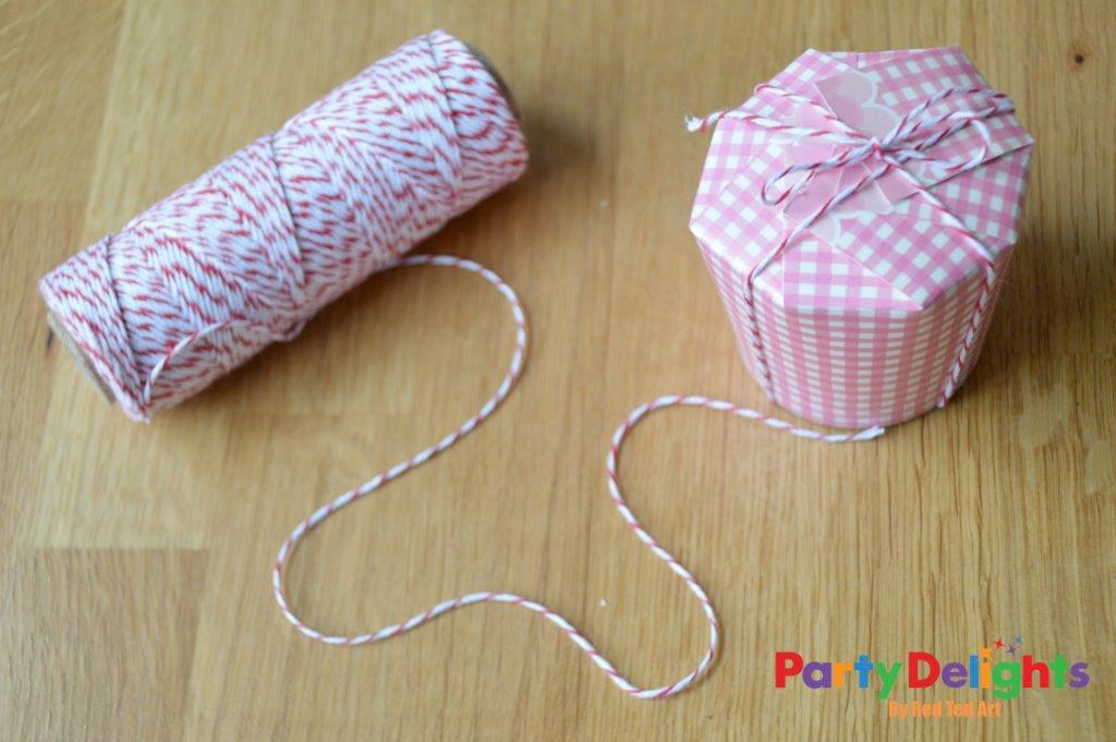 Paper Cup Treat Box Craft