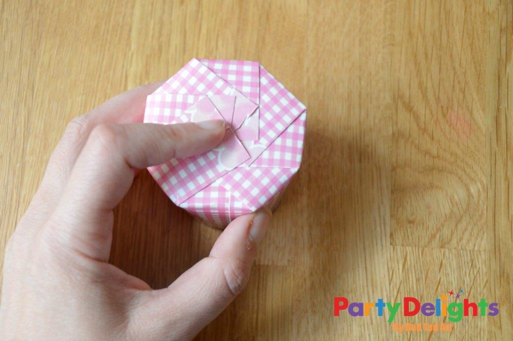 Paper Cup Treat Boxes