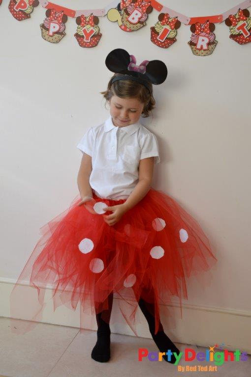 Mini Mouse Costume DIY