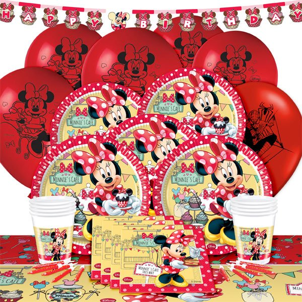Minnie's Cafe party pack