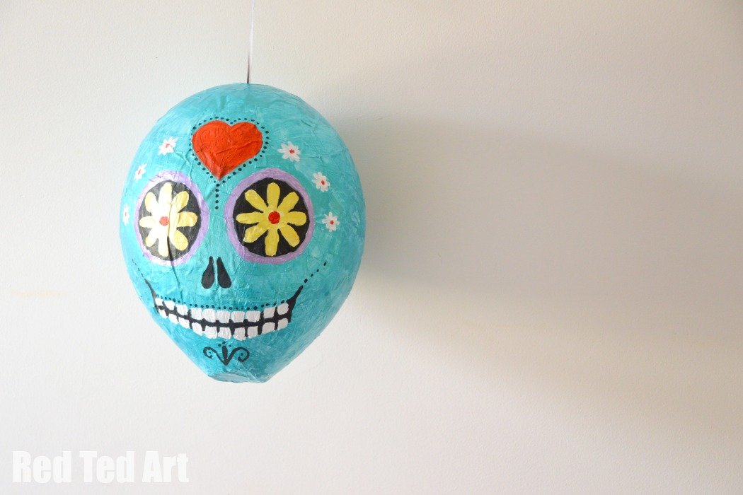 Day of the Dead Piñata How To