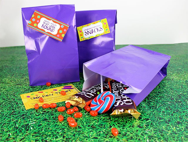 Willy Wonka party bags