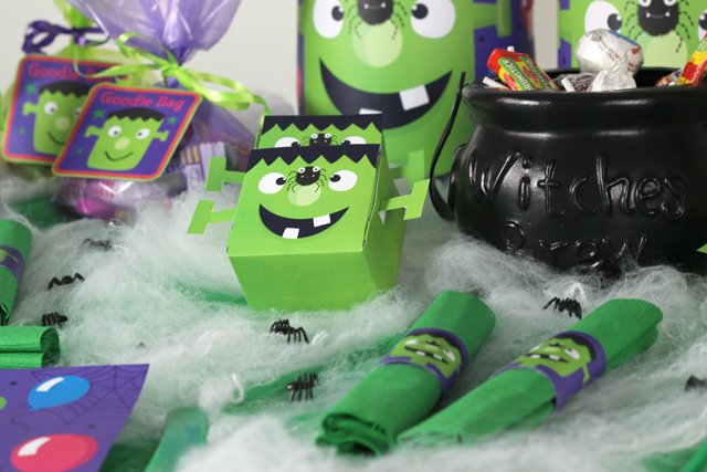Frankenstein Party - sweet boxes