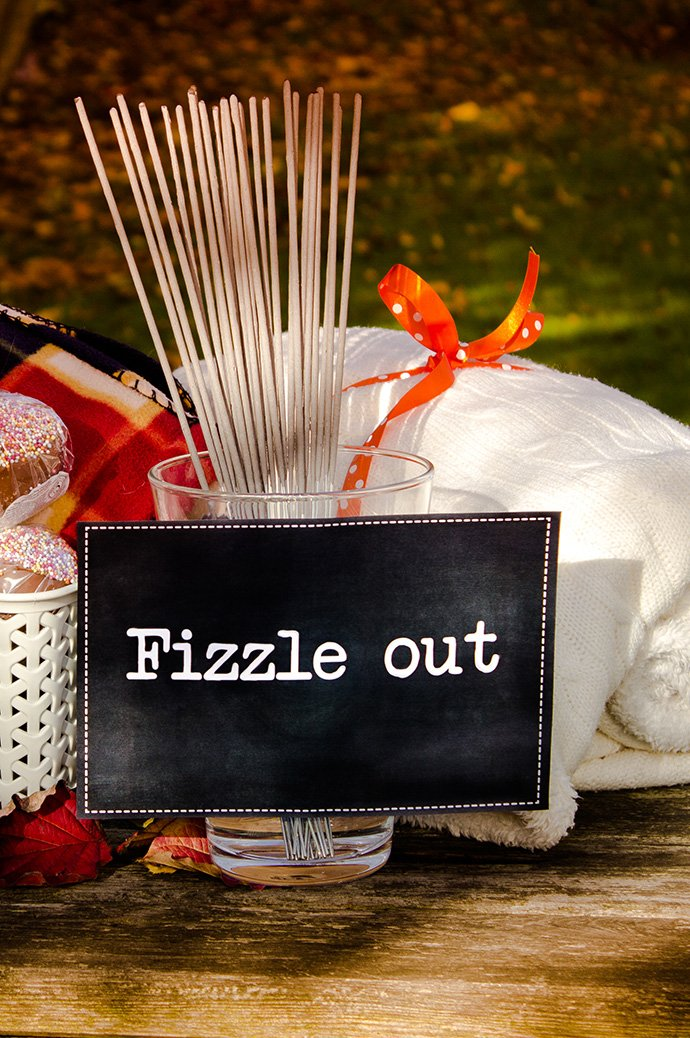 Free Bonfire Night Party Printables