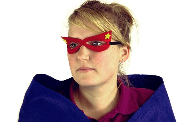 Make your own superhero costume - mask