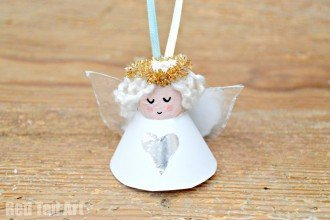 Cute Cork Angel Craft