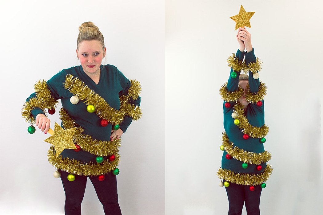 Christmas Tree Jumper Tutorial Party Delights Blog