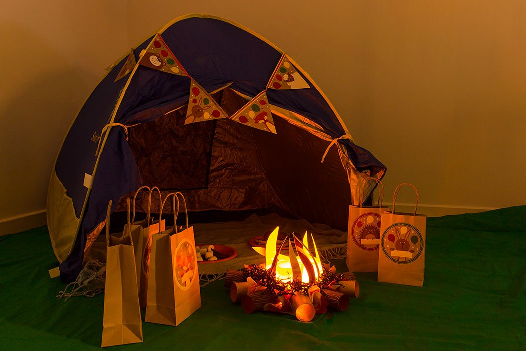 Indoor Camping Party Ideas Party Delights Blog