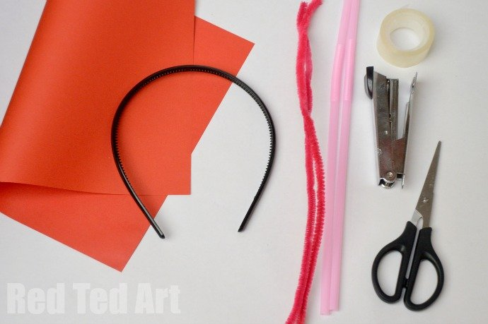 How To Make Party Boppers - Materials