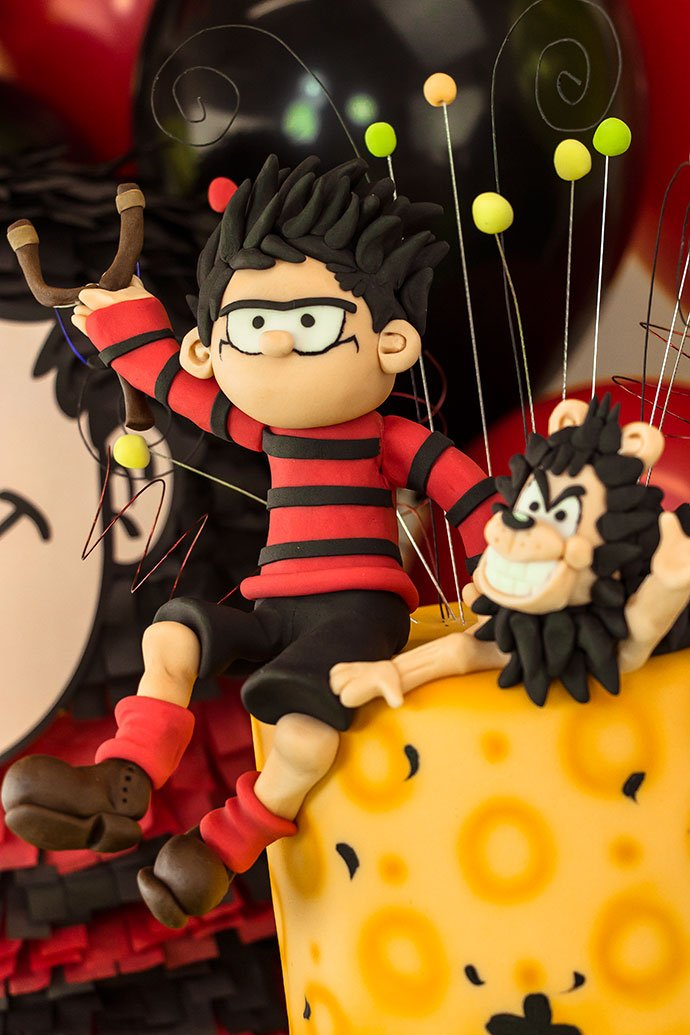 Dennis the Menace Birthday Cake