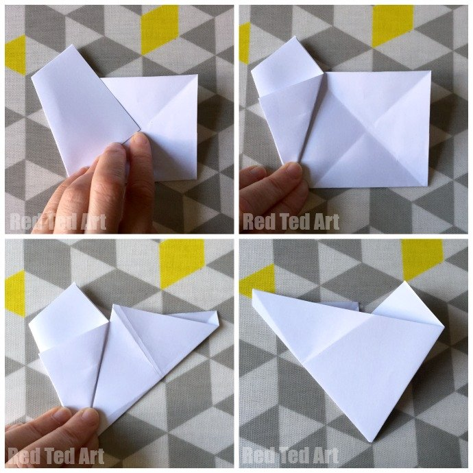 3D Paper Star how to