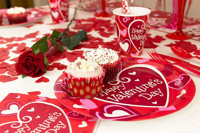 Valentine S Day Table Decorating Ideas Party Delights Blog