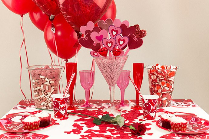 Valentines Day Dinner Table Centerpieces Valentineu0027s Day Table Decorating Ideas