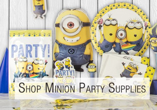 Shop Minion Party Supplies