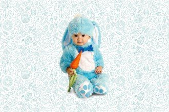 Cute Easter Costumes for Babies