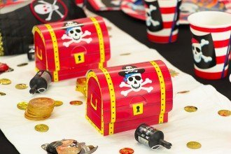 pirate party table decorations