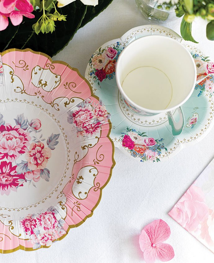 Vintage Tea Party Supplies