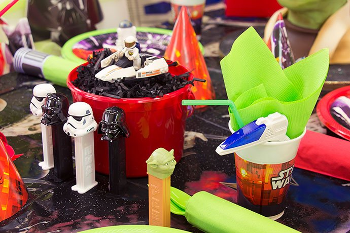 May the Fourth Party Table Setting