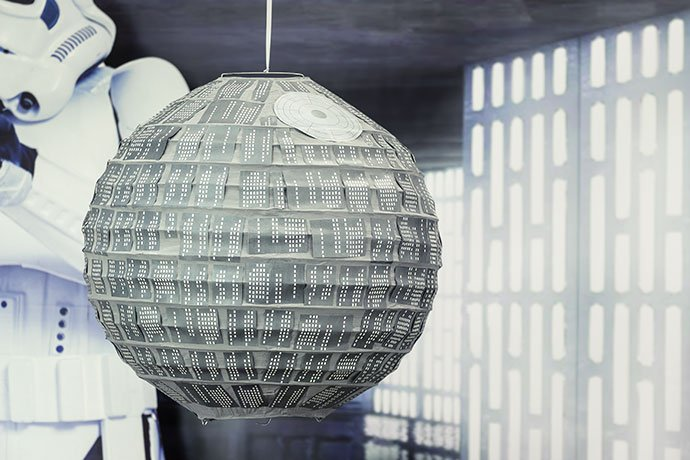 May the Fourth Party Death Star Lantern
